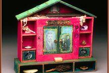Sculpture / Houses & Shrines / by Diane K. Ryan