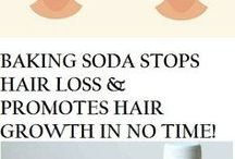 Baking Soda for Hair