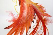 Fågel Fenix