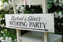 Wedding Ideas / An enchanted garden themed wedding