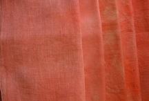 fabrics dyed and undyed