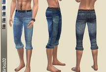 Sims 4 - Male Bottoms