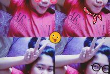 selfie  / my crazy selfie.. akakakakaka