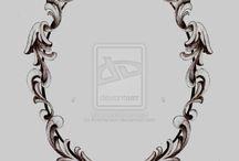 Espejos y marcos vintage