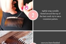 Heavenly Hair / DIY's for hair accessories!  / by M&J Trimming