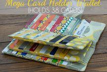 Carteira para cartões