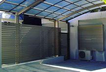 Modern carport