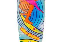 """Stocked GB · Miller Division · Longboard  / El nuevo Stoked GB, un pintail de 40"""", maniobrable y con un cóncavo medio que te aportará un agarre extra perfecto para carving, pumping, cruising, freeride... Gómez Bueno Collection"""