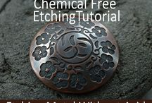 Etching metal