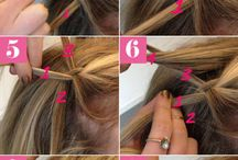 hair- step by step