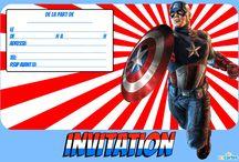 Anniversaire Capitaine América