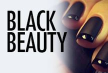 Black Lacquer Nail Art & Nail Designs