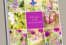 Kids Canvas Photo Collage Prints