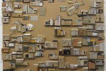 Cardboard/Styrofoam modelling