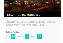 "General / The voting for India's Largest Culinary Awards ‪#‎TimesFoodAwards‬ is open. Vote for TBBQ -Terrace Barbeque favorites NOW! Call Now !! 08067694307 under ""Best Kebabs category"" and 08067694401 under ""Best Ambience category"" Visit:http://timescity.com/ahmedabad/timesfoodawards and vote for TBBQ -Terrace Barbeque"