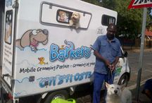 Barkers Mobile Dog Grooming / Cute pet pictures