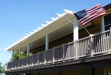Duralum Patio Covers / Durum Covers have the look of wood with the reliability of aluminum