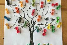 Ağaç ve Çiçek