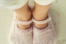 sapatinhos croché