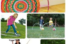 Kids hula hoop class