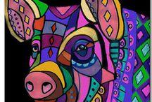 afrikaanse patronen / hoi