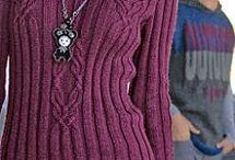 pletení šaty, sukně