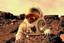 baza na Marsie / koncepty architektury oderwanej od Ziemi