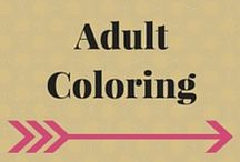 Adult Coloring / #Coloring #ColoringPages #AdultColoring
