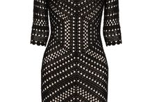 robe crochet noire