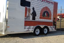 Our Restaurant Trailer Wrap / Custom trailer wrap.