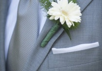 Boutonnieres / Whether traditional or trendy, a boutonniere can speak your style for you!