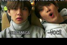 memes kpop bts +uns idol