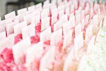 Wedding table / Mise en place