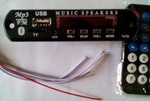 Module Bluetooth MP3 USB FM player