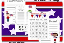 President's Day / by Sierra @ H is for Homeschooling