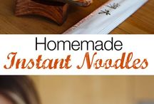 Instant Noodles - Home Made