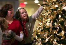 """Light Up The Holidays 2012 / Please join us in honoring #ChildhoodCancer Warriors with a #GoldRibbon for our """"Light Up The Holidays"""" tree. If you are, have or know a Childhood Cancer Warrior who you'd like to honor this year with a Gold Ribbon, please click the below link and order your Gold Ribbon today! And, if you would like to join us for this event, you may also register using the same link.  http://give.acco.org/washington/events/light-up-holidays-hope-2013/e28072"""