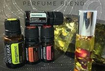 Essential oil sprays and perfumes