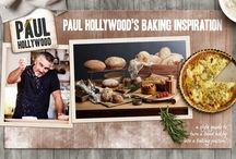 We <3 Paul Hollywood Bakeware / The stunning new collection of bakeware by Paul Hollywood. All the tools you could possibly need in a beautiful champagne finish. Tried, tested and loved by the man himself!