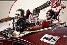 Joker and Harle quinn