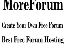 """MoreForum: Create A Free Forum No Ads Unlimited Free Bandwidth / MoreForum invites anyone to create an account and build their own forum for free. We don't put ads on your forum but you're free to place your own ads (there is an """"Ad Management"""" add-on that makes this easy).We can also add your Google Ad code or tracking code by request . Create a free forum : http://www.moreforum.com/"""
