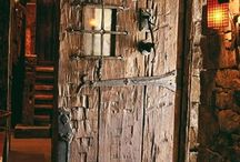 πορτα ξυλινη
