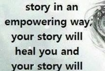 Giving people a voice go from victim to survivor