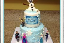 Sian's 4th birthday (Frozen theme)