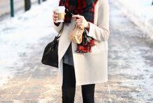 Winter street fashion&style