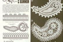 Irish lace & crochetes