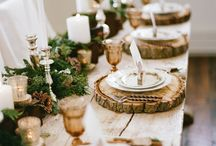 table decor / by Samantha ***