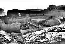 Una iglesia dentro de un anfiteatro romano. Santa María del Miracle. Siglos XII-XIII. Tarragona.