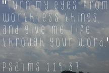 ~Psalms / by Beth Harrelson
