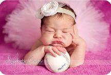 Newborn sport theme ideas